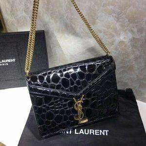 Saint Laurent Genuine Leather bags